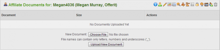 Uploading Documents in Offerit